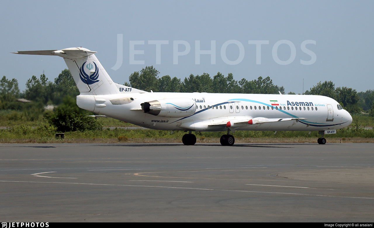 EP-ATF - Fokker 100 - Iran Aseman Airlines