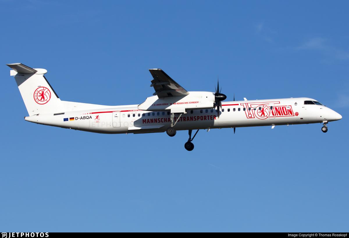 D-ABQA - Bombardier Dash 8-Q402 - LGW Luftfahrtgesellschaft Walter