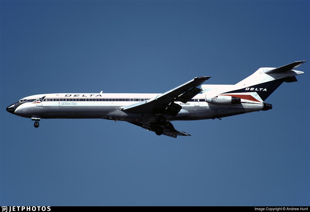 N519DA - Boeing 727-232(Adv) - Delta Air Lines