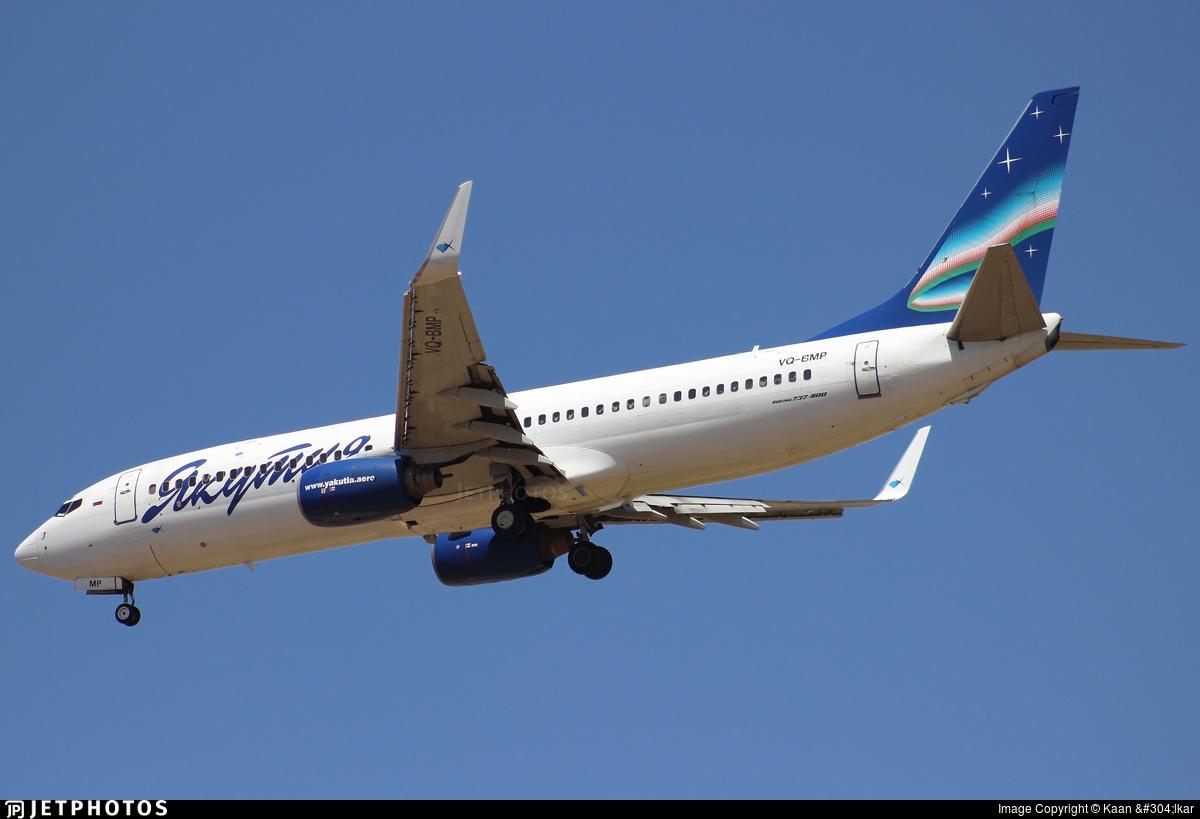 VQ-BMP - Boeing 737-86N - Yakutia Airlines