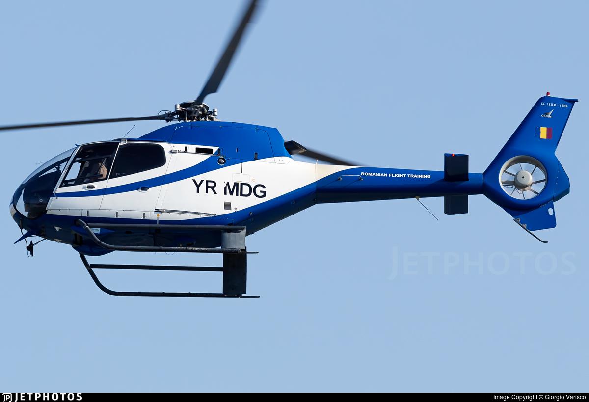 YR-MDG - Eurocopter EC 120B Colibri - Romanian Aviation Academy