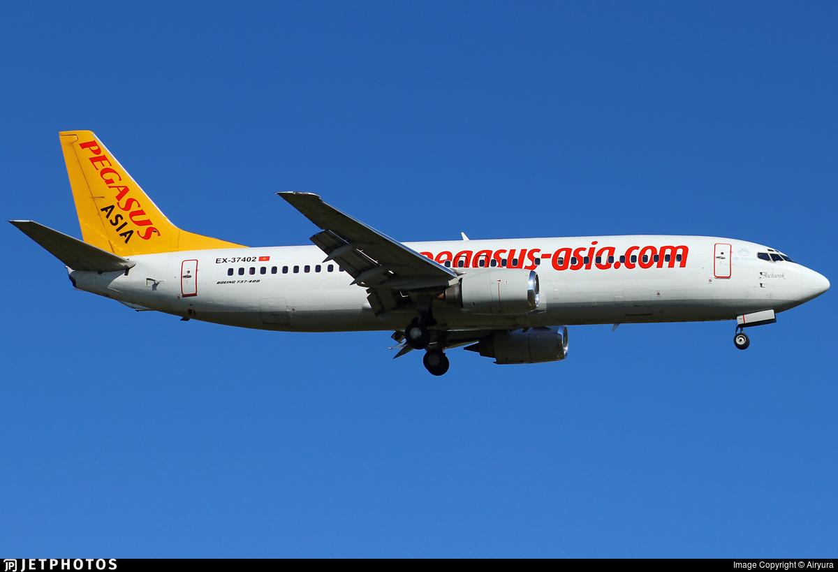 EX-37402 - Boeing 737-42R - Pegasus Airlines Asia