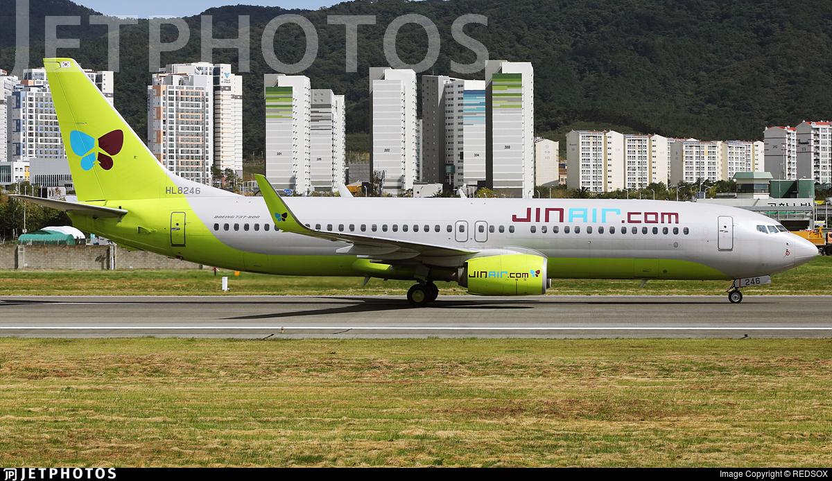 HL8246 - Boeing 737-8SH - Jin Air