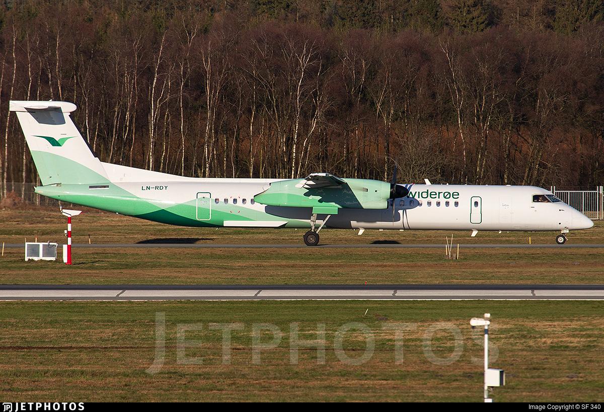 LN-RDY - Bombardier Dash 8-Q402 - Widerøe