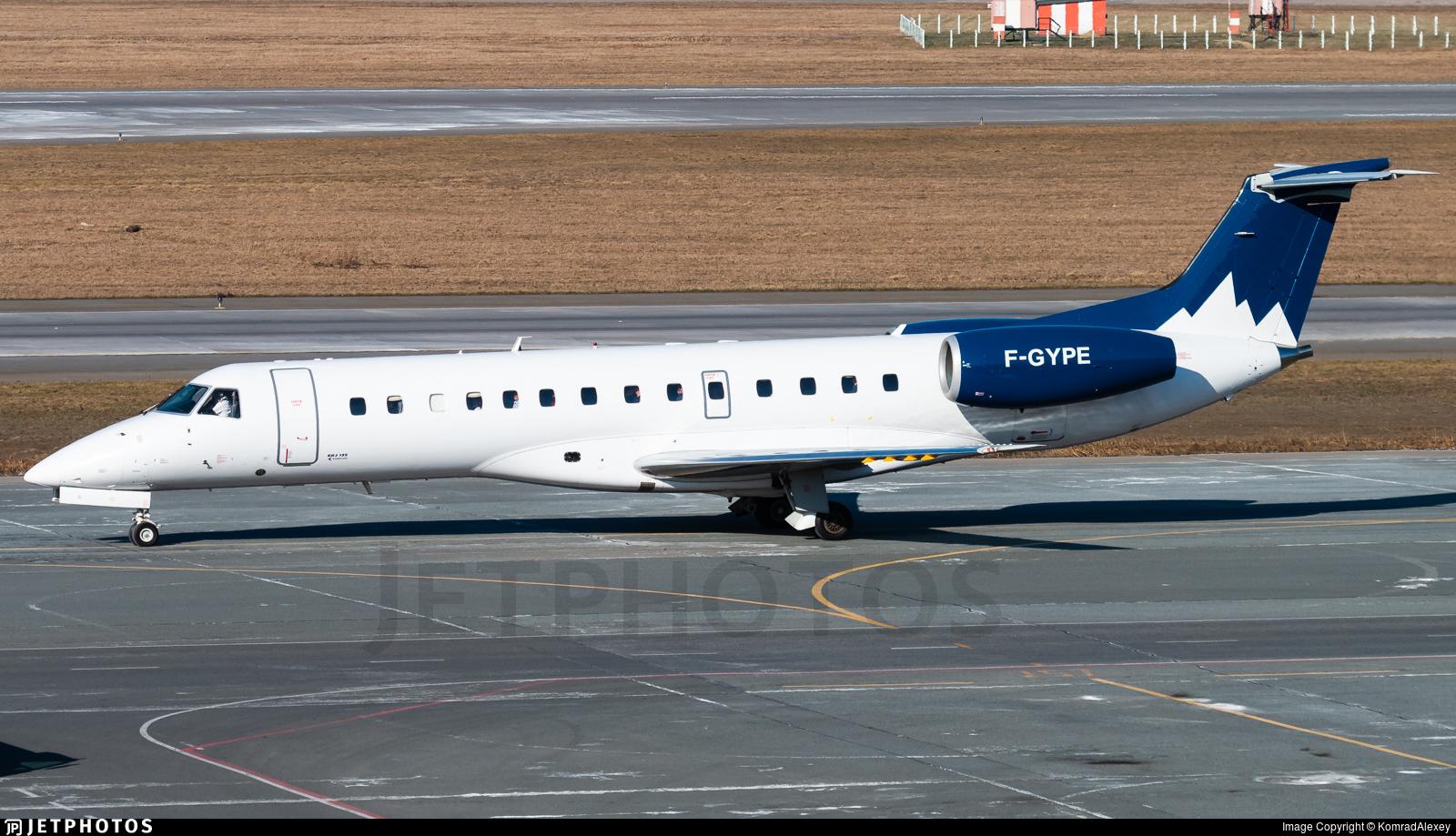 F-GYPE - Embraer ERJ-135LR - Pan Europeene Air Service