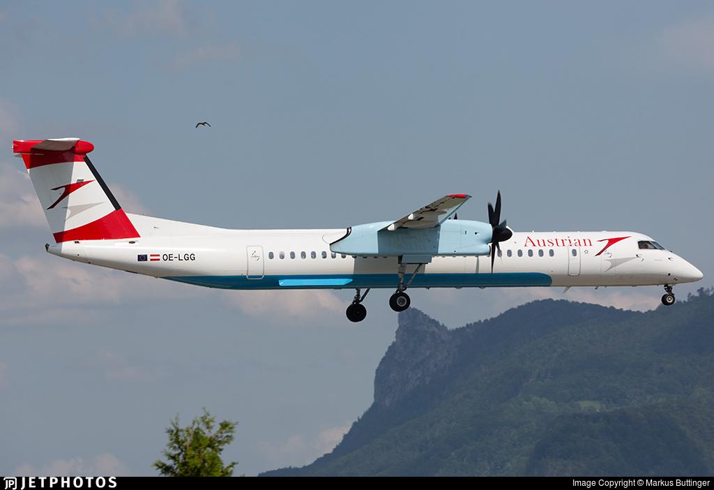 OE-LGG - Bombardier Dash 8-Q402 - Austrian Airlines