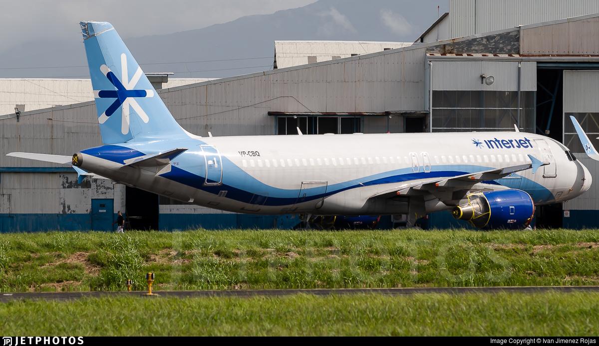 VP-CBQ - Airbus A320-214 - Interjet