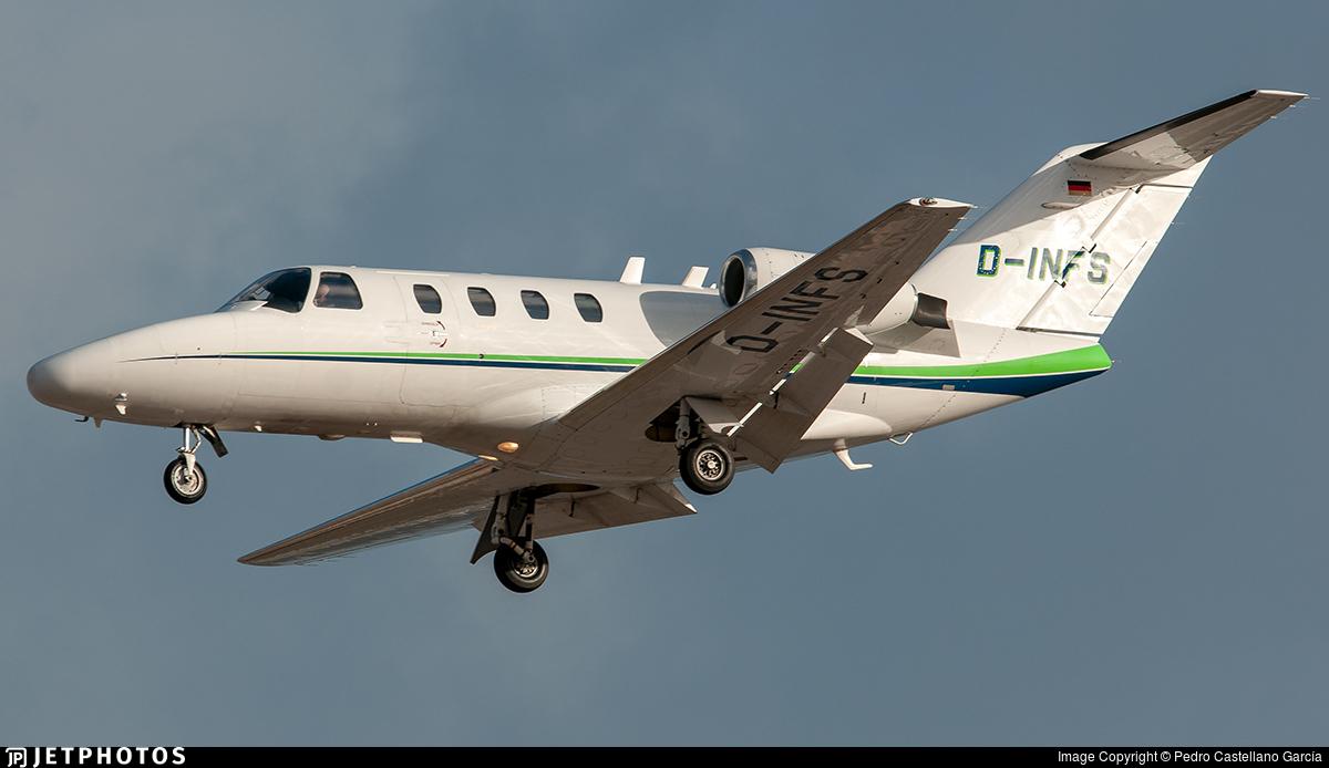 D-INFS - Cessna 525 CitationJet 1 - BizAir Flug