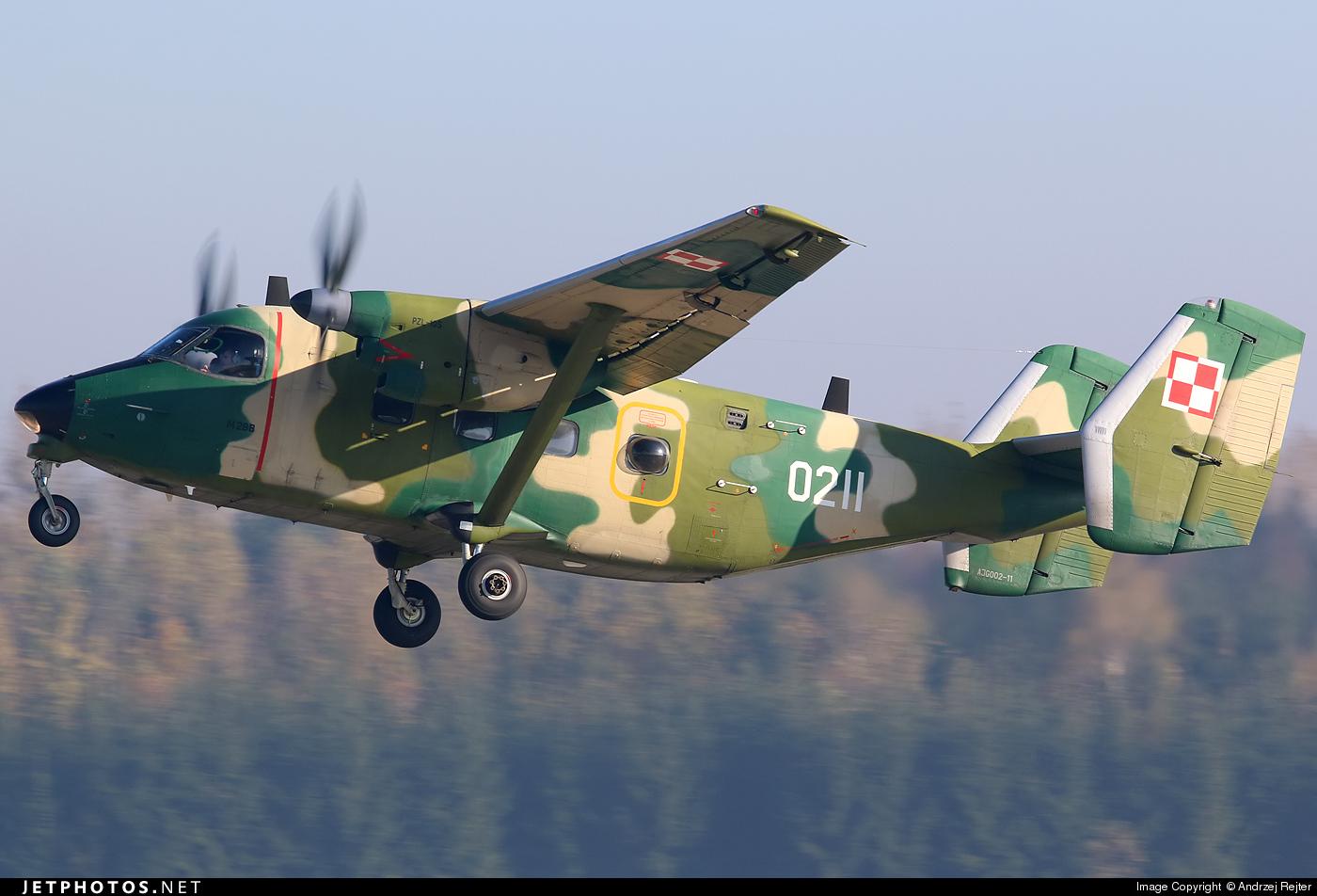 0211 - PZL-Mielec M-28TD Bryza - Poland - Air Force