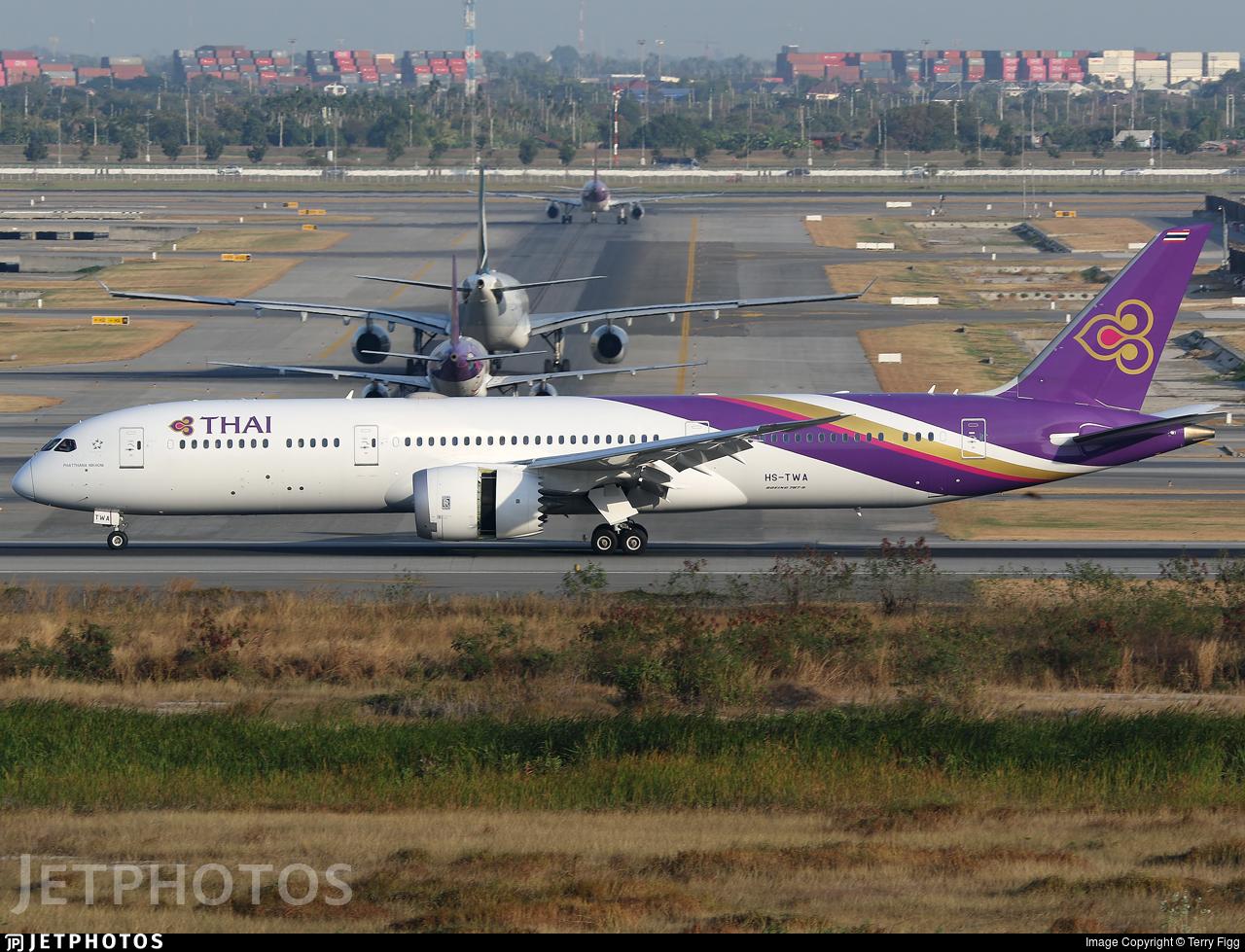 HS-TWA - Boeing 787-9 Dreamliner - Thai Airways International