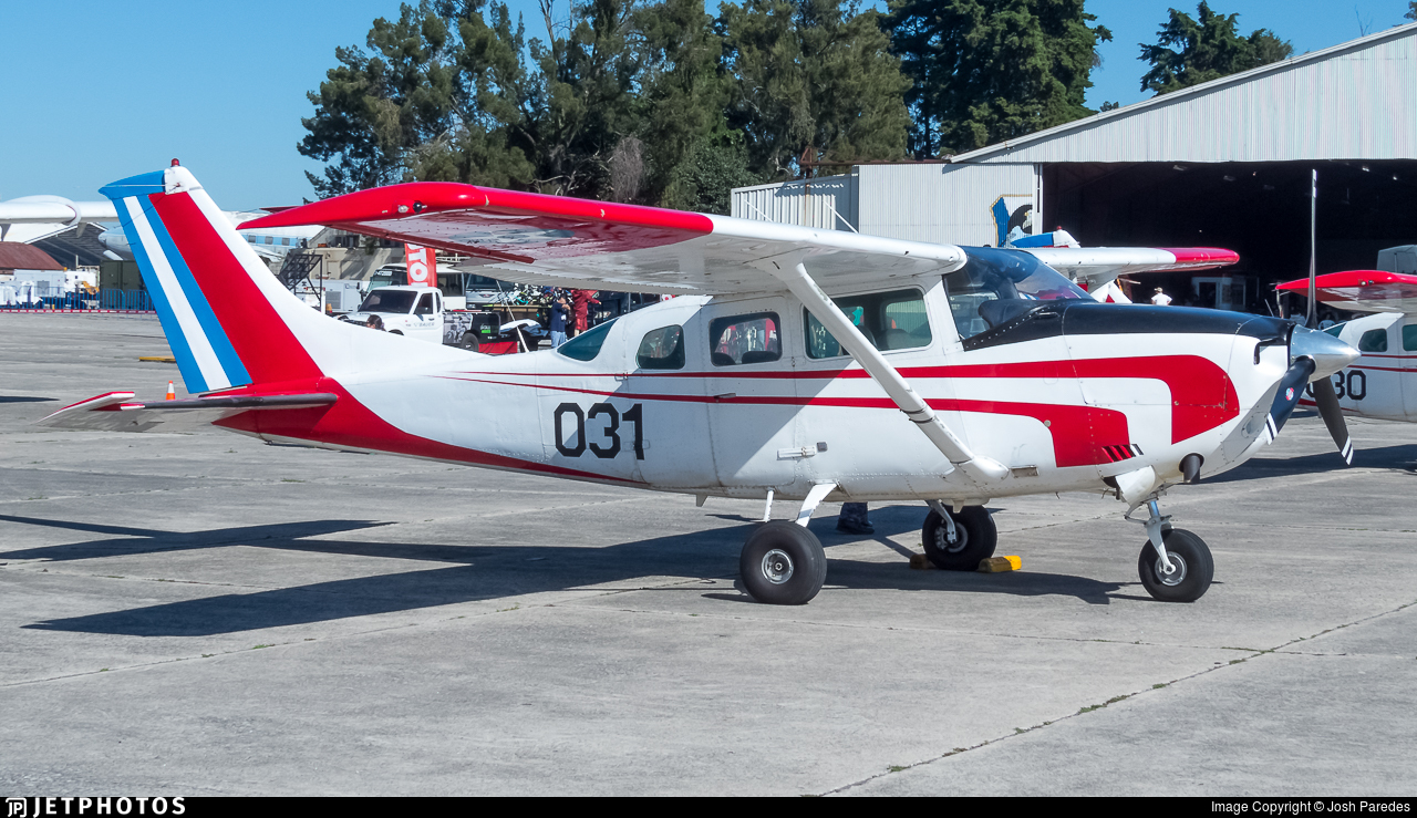 031 - Cessna TU206G Turbo Stationair - Guatemala - Air Force