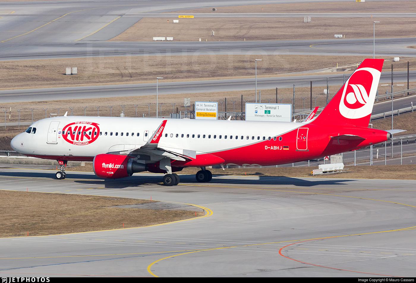 D-ABHJ - Airbus A320-214 - Niki