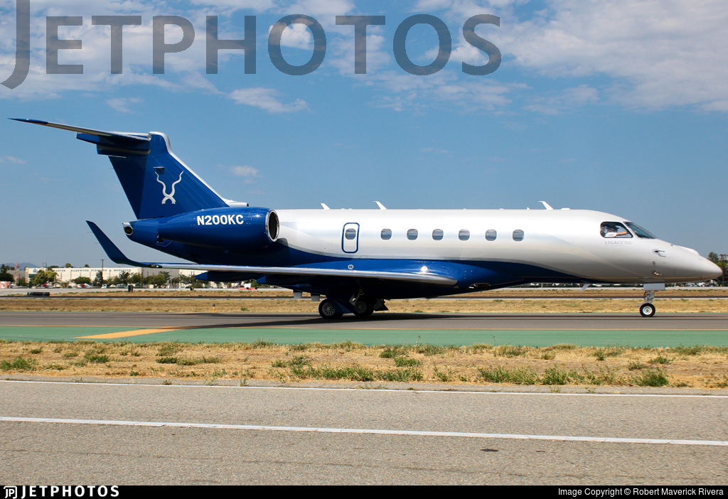 N200KC - Embraer EMB-550 Legacy 500 - Private
