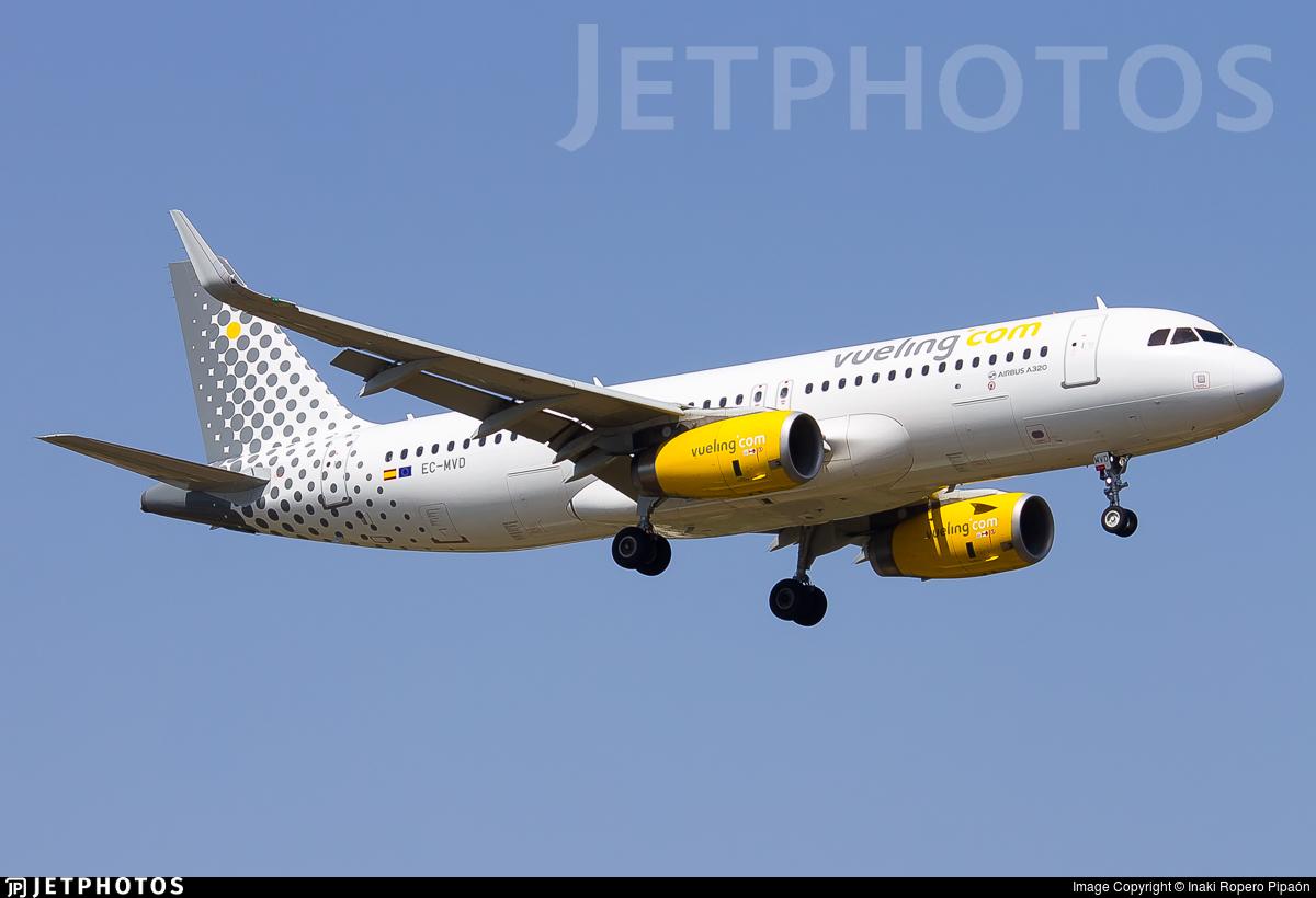 EC-MVD - Airbus A320-232 - Vueling