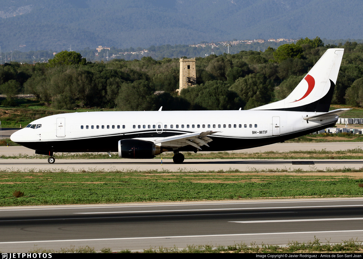 9H-MTF - Boeing 737-329 - Maleth Aero