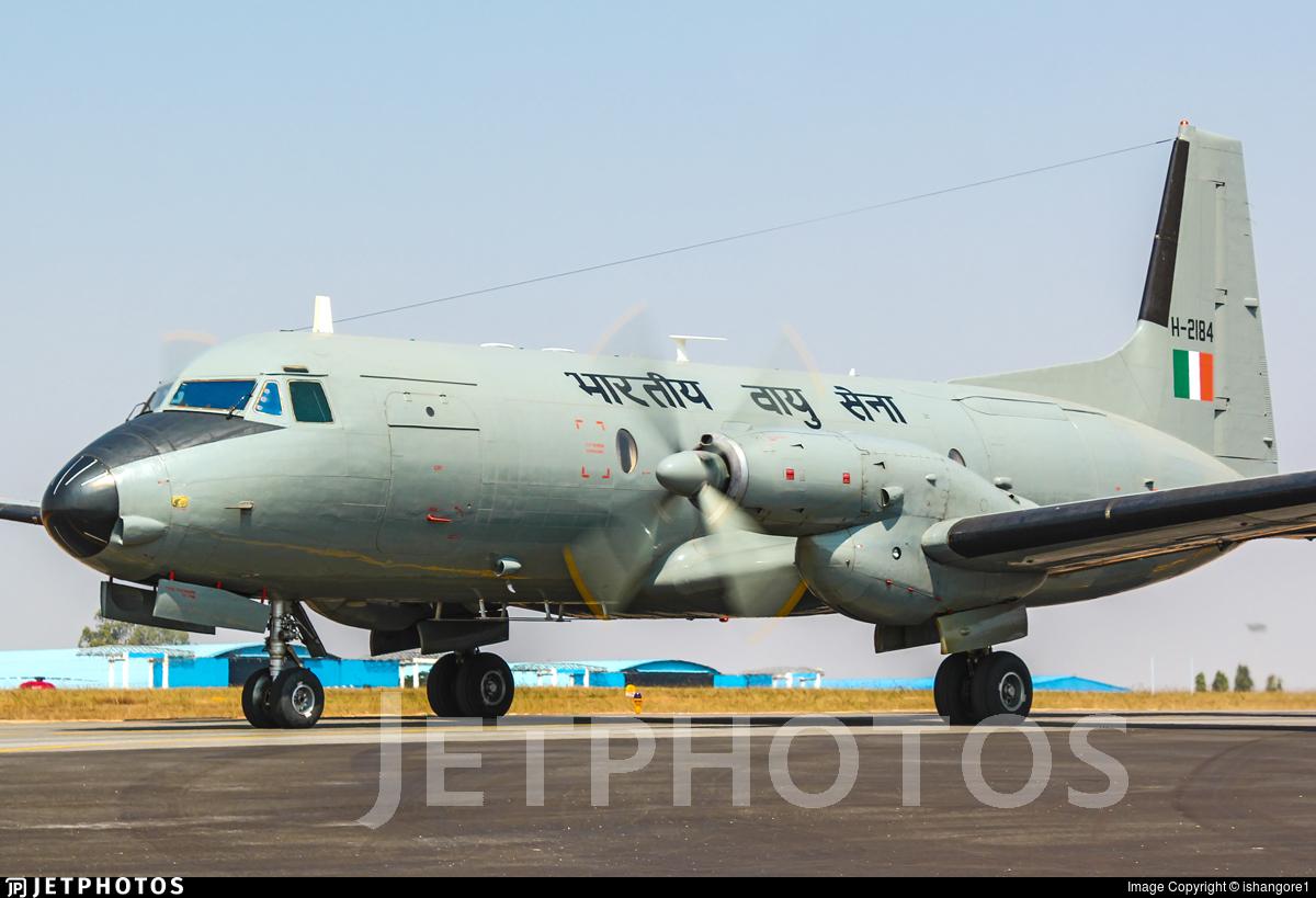 H-2184 - Hindustan Aeronautics HAL-748 M - India - Air Force