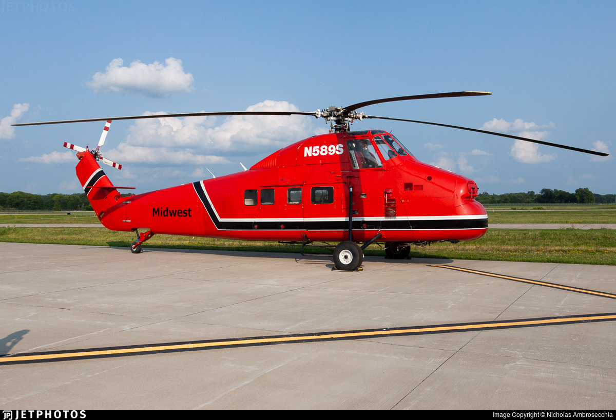 N589S - Sikorsky S-58T - Midwest Helicopter Airways