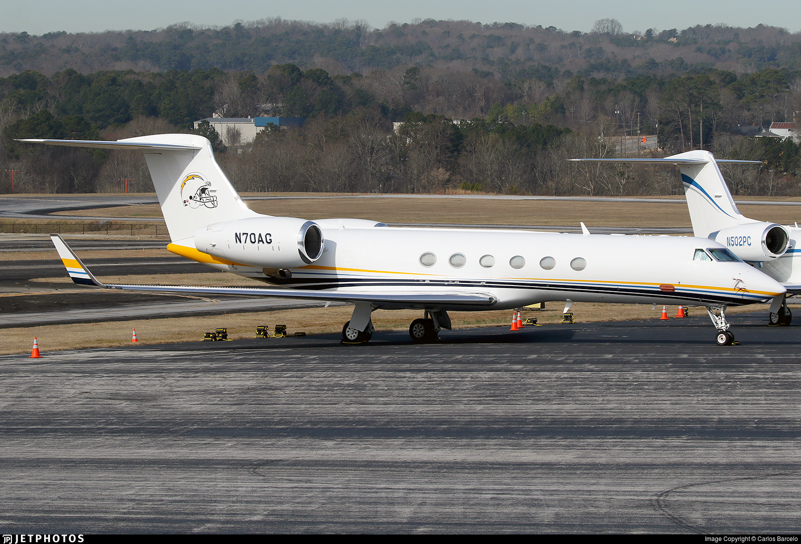 N70AG - Gulfstream G-V - Private