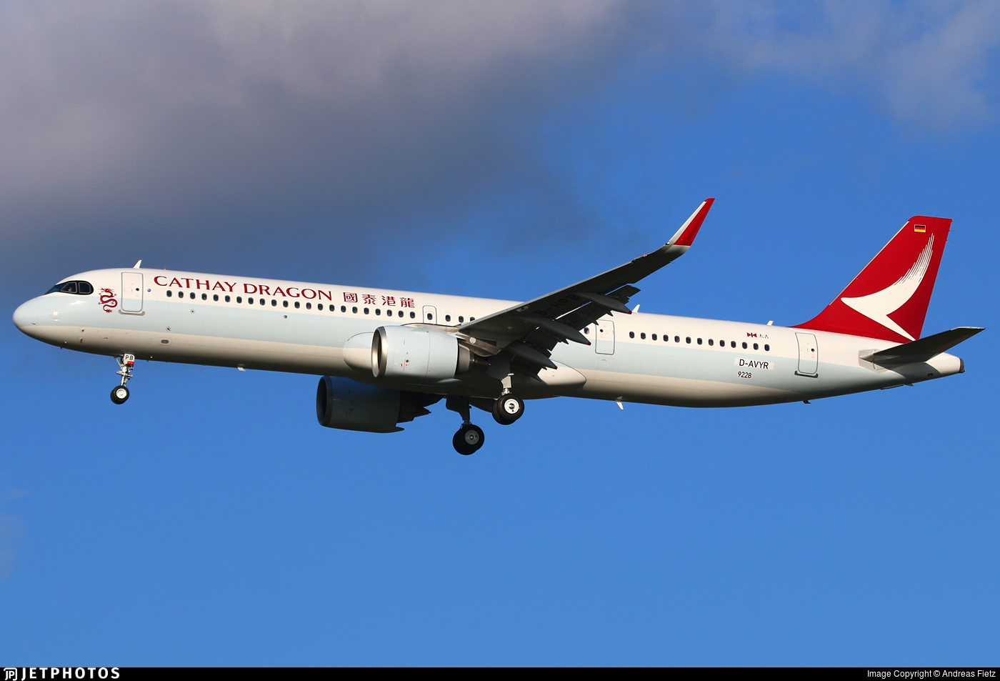 D-AVYR - Airbus A321-251NX - Cathay Dragon