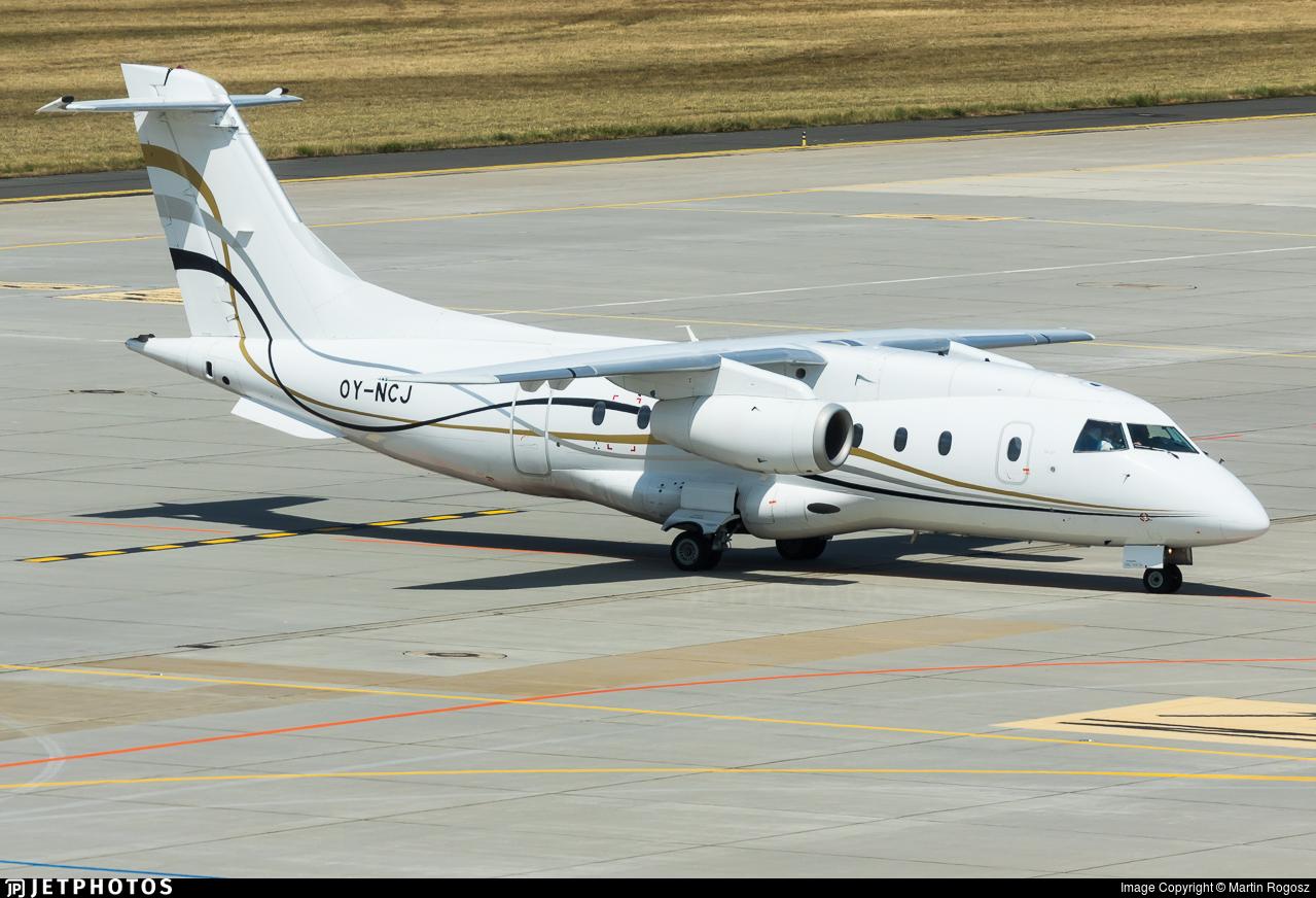 OY-NCJ - Dornier Do-328-310 Jet - Sun Air