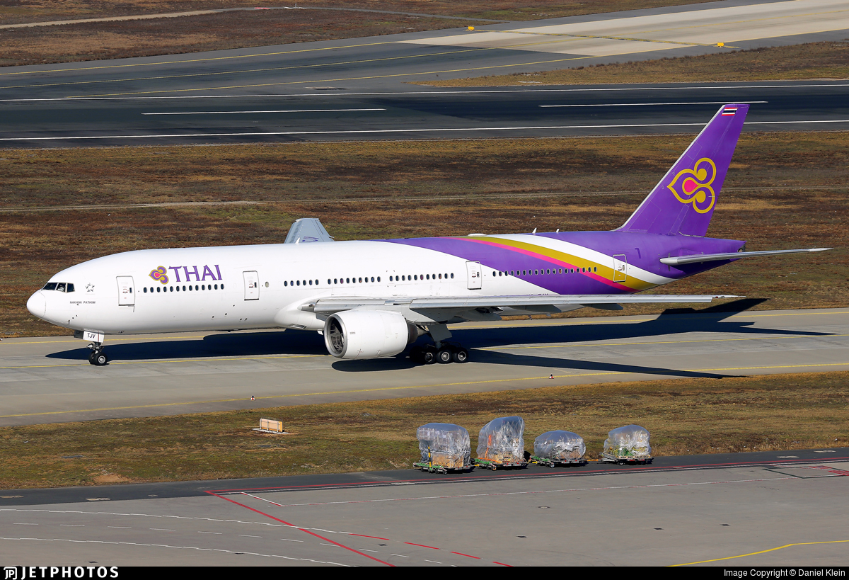 HS-TJV - Boeing 777-2D7(ER) - Thai Airways International