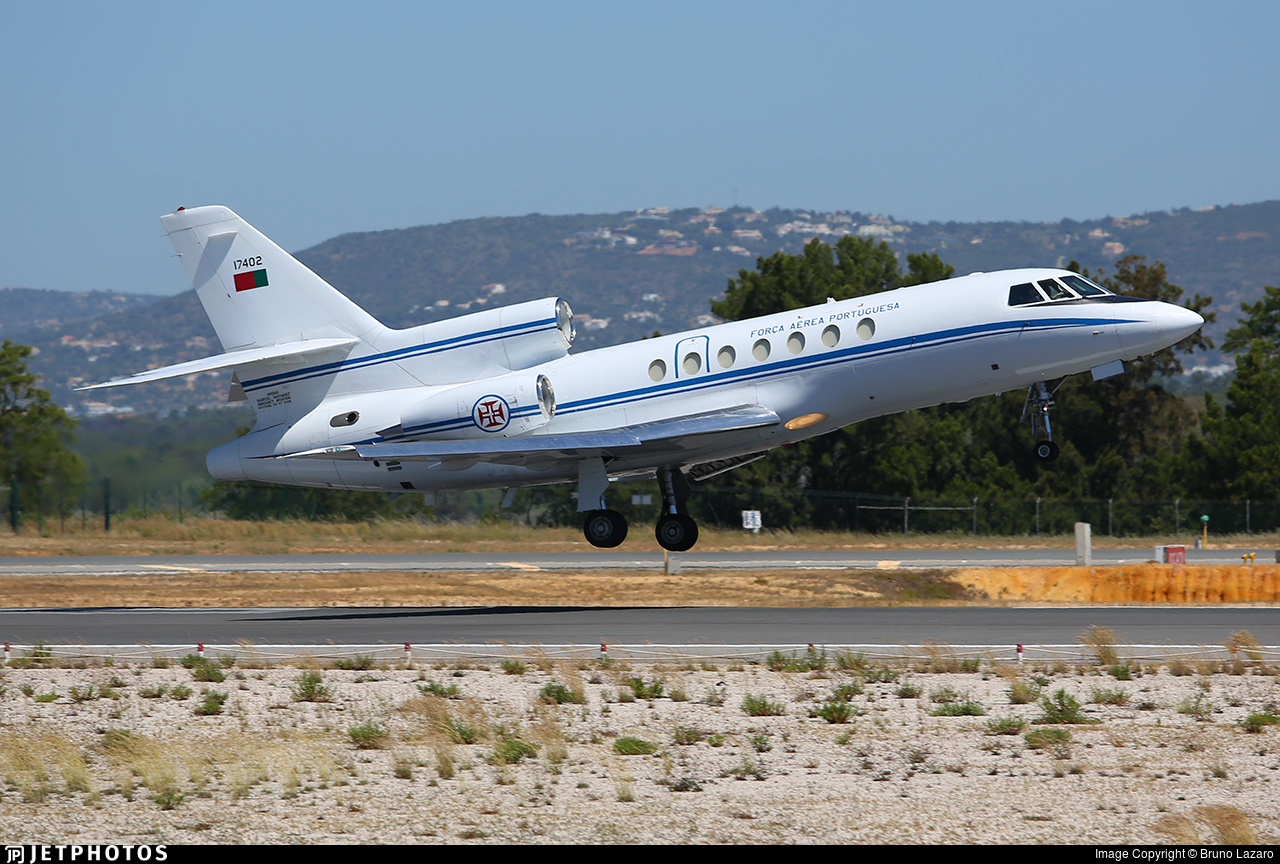 17402 - Dassault Falcon 50 - Portugal - Air Force
