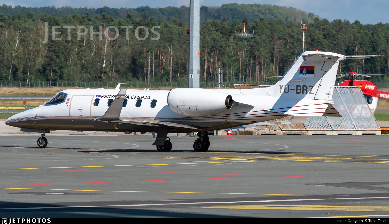 YU-BRZ - Bombardier Learjet 31A - Serbia - Government