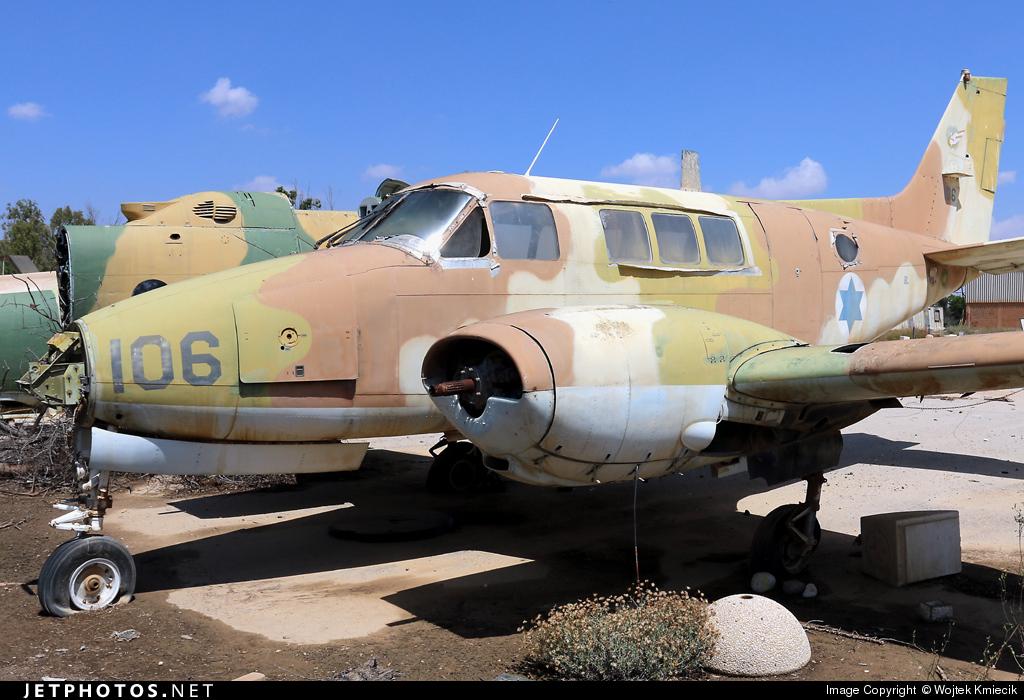 106 - Beechcraft 65-B80 Zamir - Israel - Air Force
