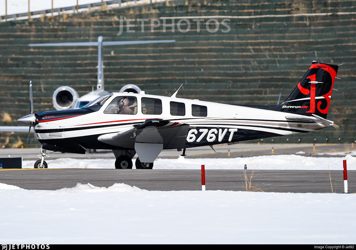N676VT - Beechcraft G36 Bonanza - Private