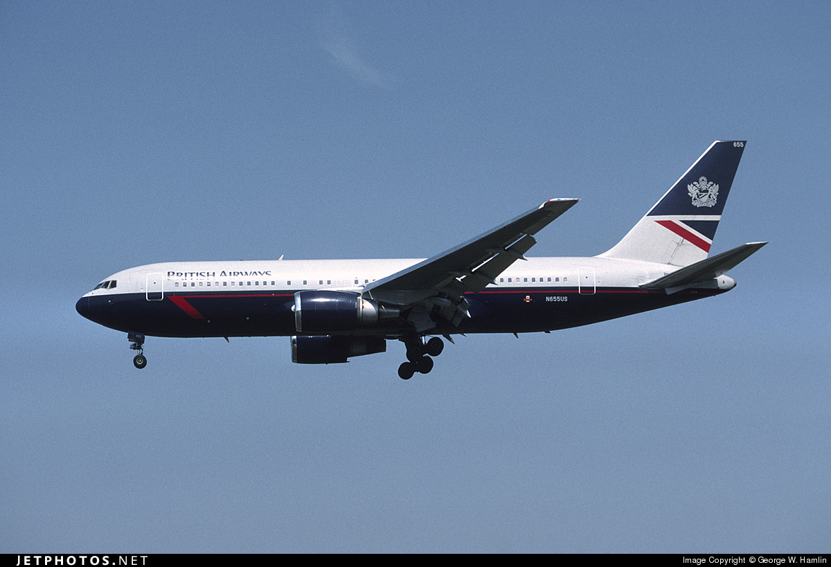N655US - Boeing 767-2B7(ER) - British Airways (USAir)