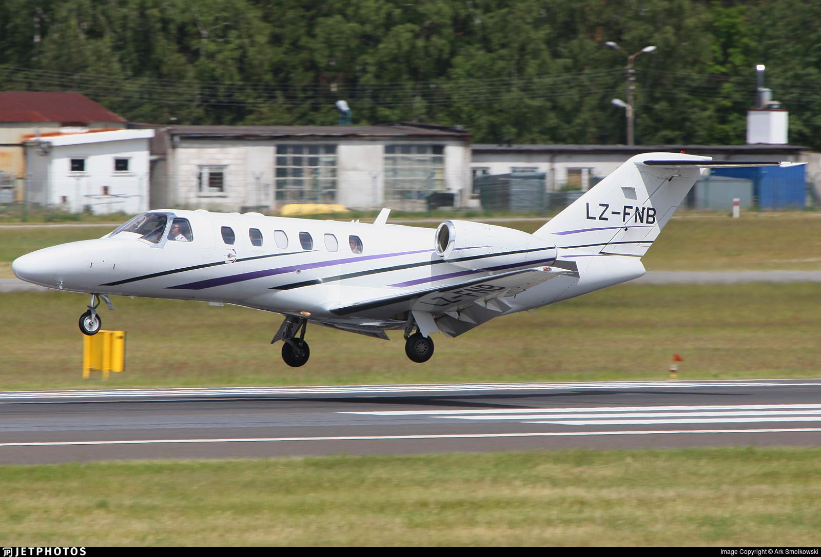 LZ-FNB - Cessna 525A CitationJet 2 Plus - Private
