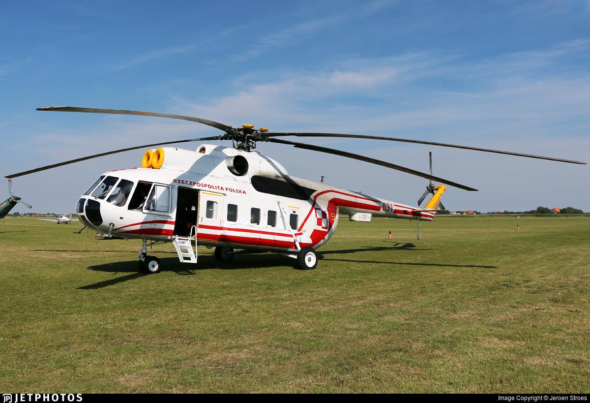 631 - Mil Mi-8P Hip - Poland - Air Force