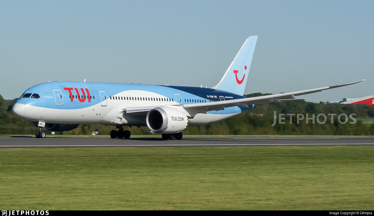 G-TUIH - Boeing 787-8 Dreamliner - TUI