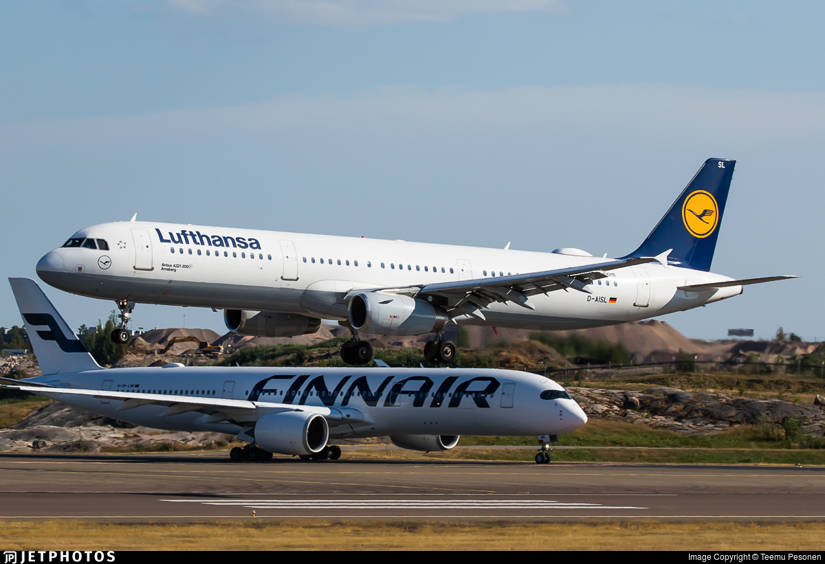 D-AISL - Airbus A321-231 - Lufthansa