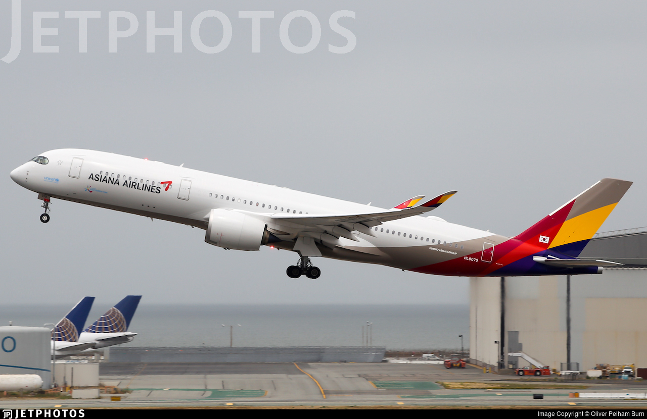HL8079 - Airbus A350-941 - Asiana Airlines