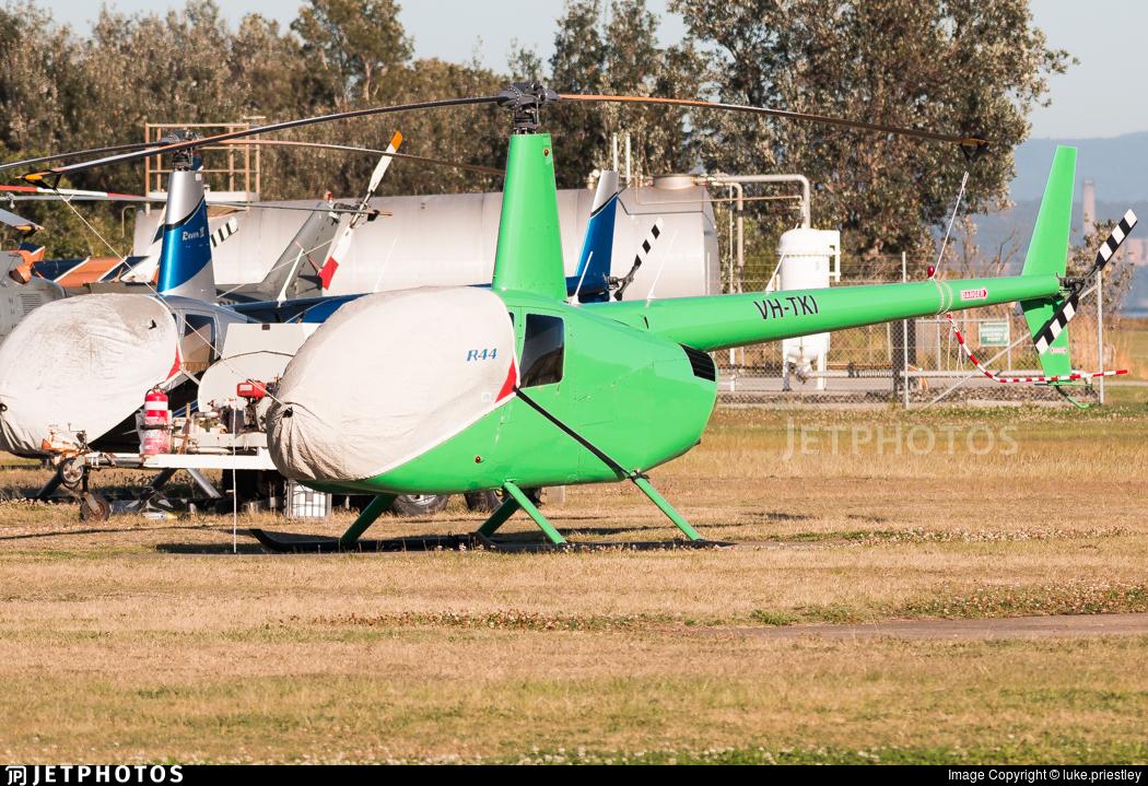 VH-TKI - Robinson R44 Astro - Private