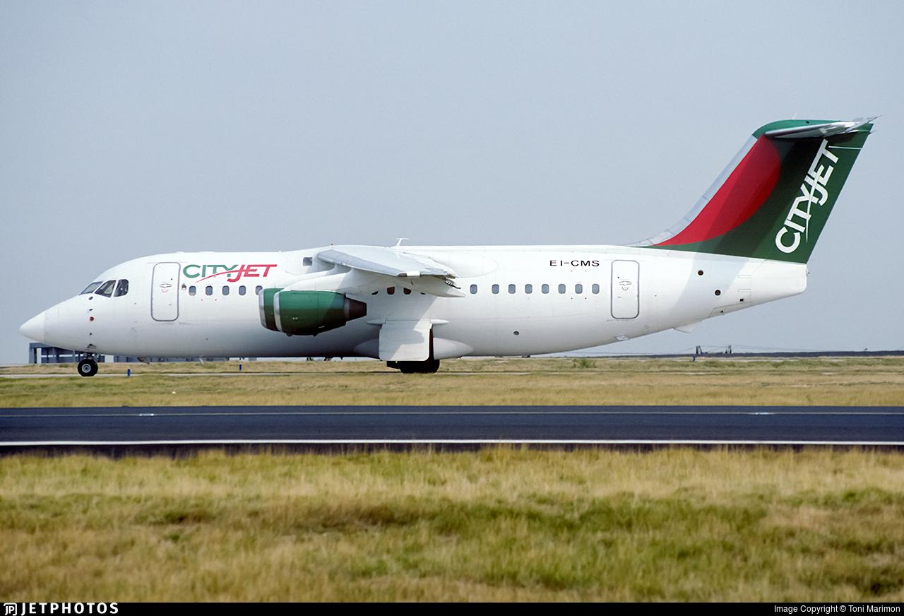 EI-CMS - British Aerospace BAe 146-200 - CityJet