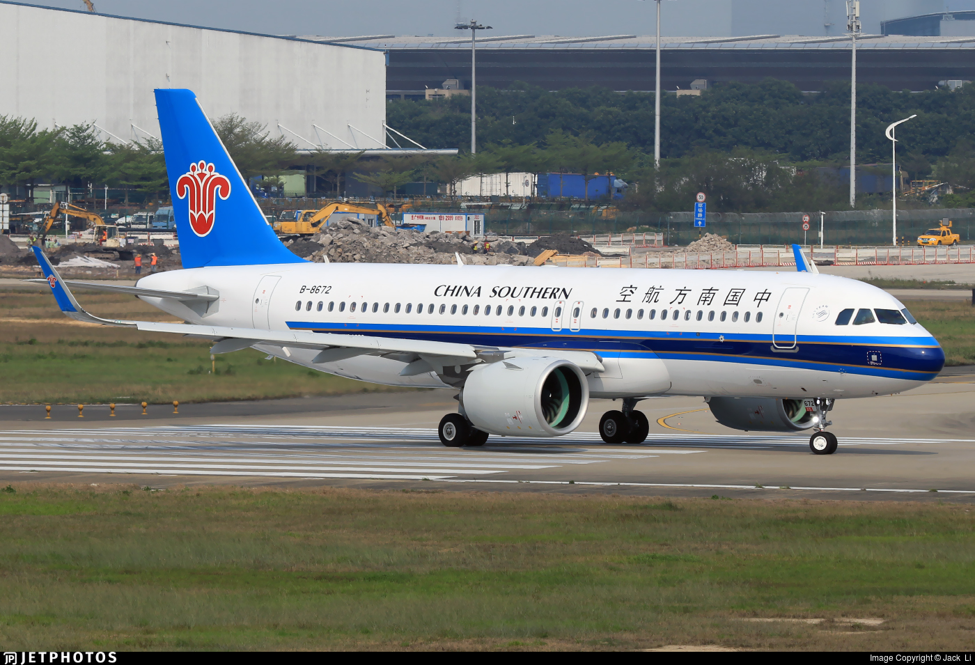 B-8672 | Airbus A320-271N | China Southern Airlines | Jack ...