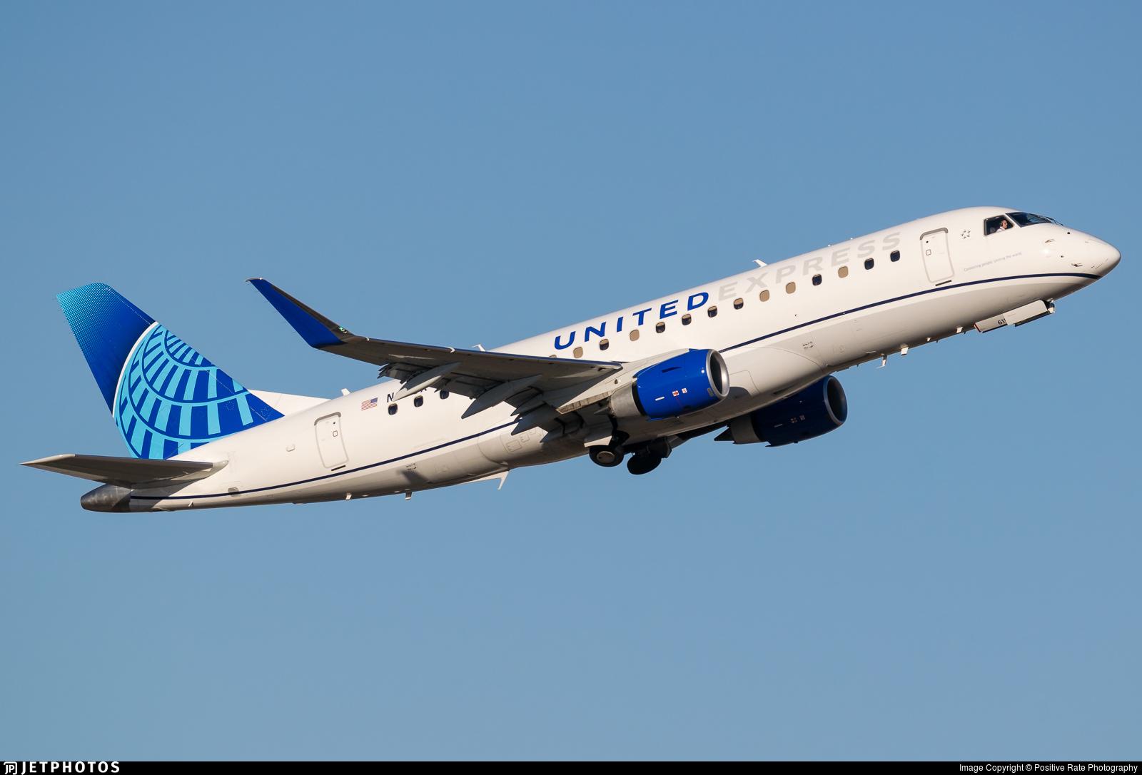 N611UX - Embraer 170-200LL - United Express (ExpressJet Airlines)