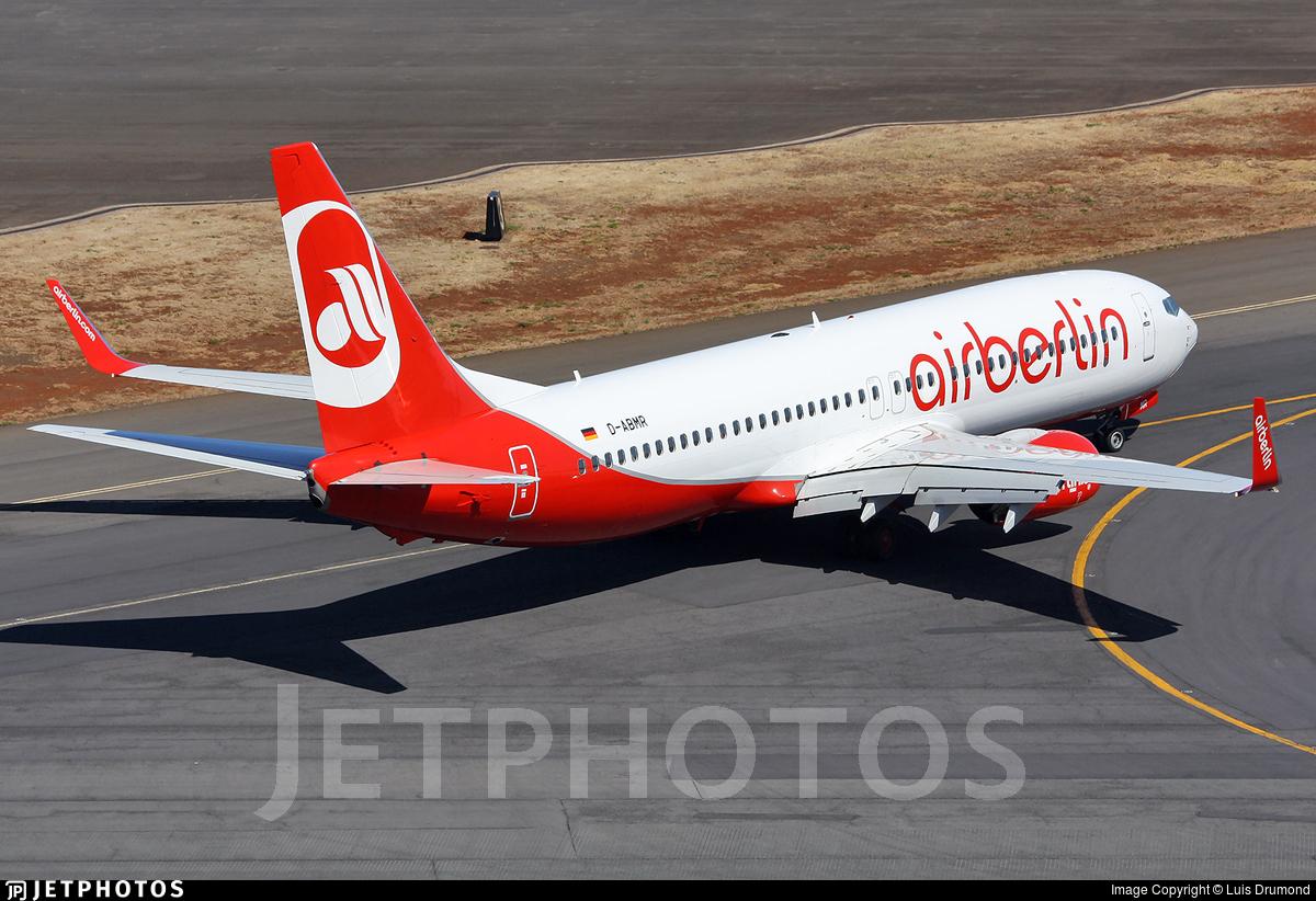 D-ABMR | Boeing 737-86J | Air Berlin | Luis Drumond