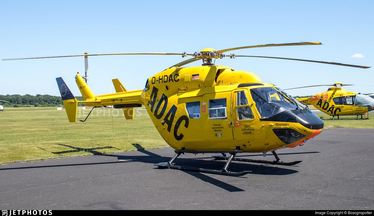 D-HDAC - MBB BK117B-2 - ADAC Luftrettung