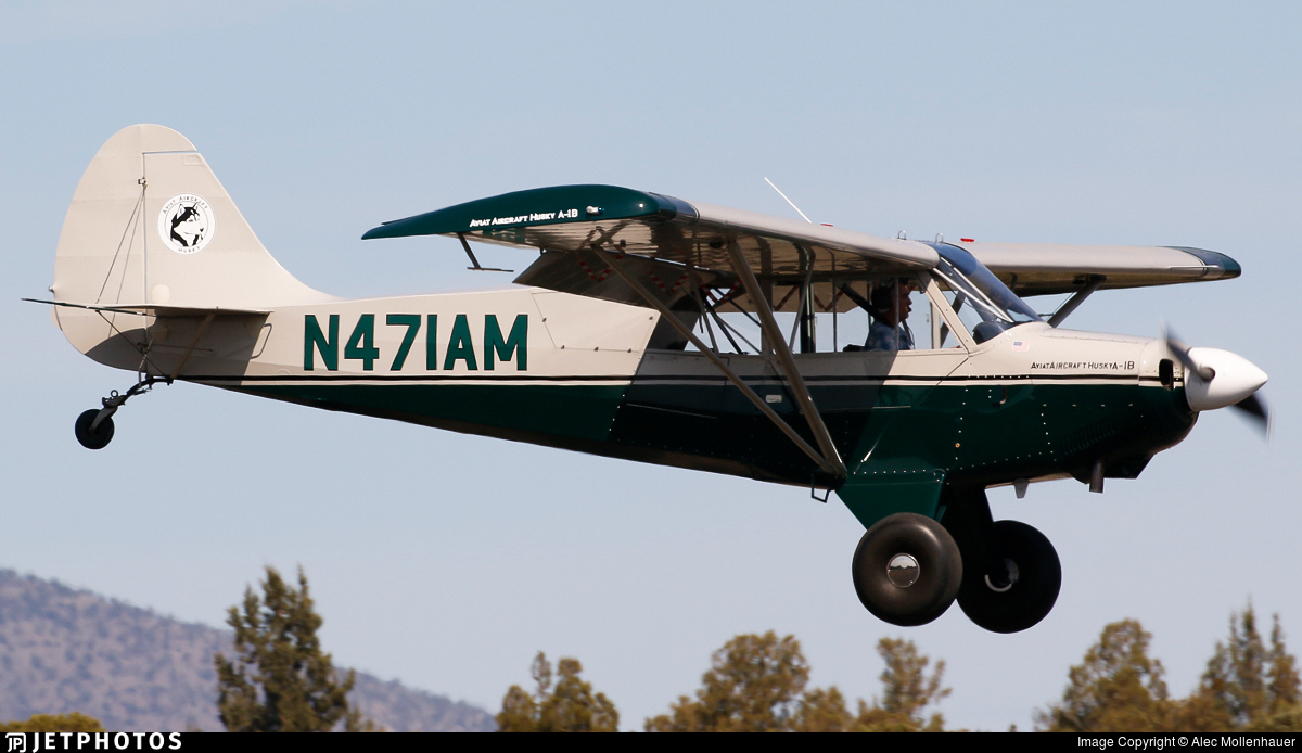 N471AM - Aviat A-1B Husky - Private