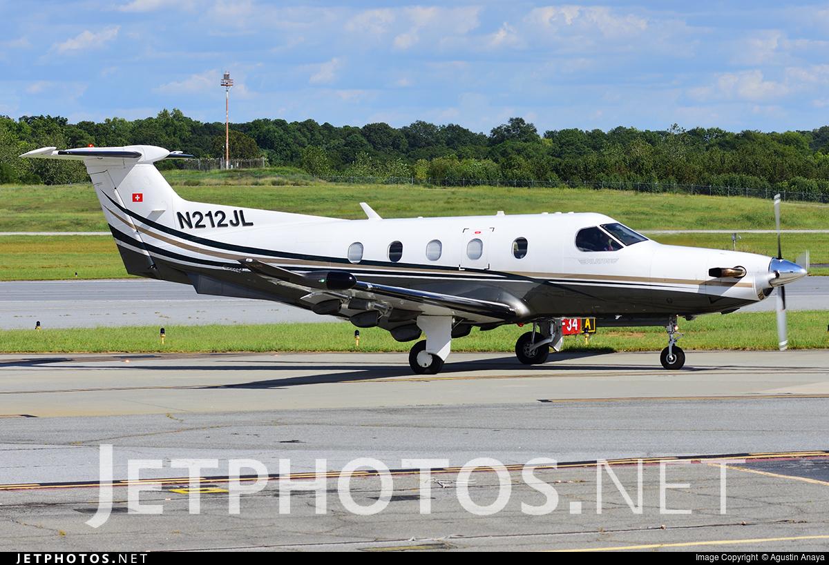 N212JL - Pilatus PC-12/47E - Private