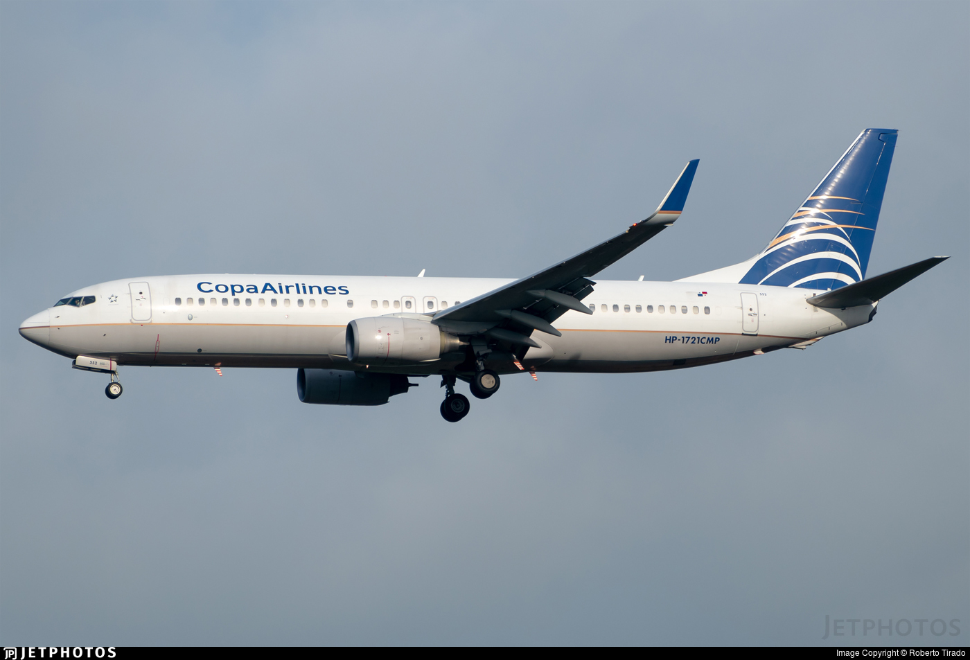 HP-1721CMP - Boeing 737-8V3 - Copa Airlines