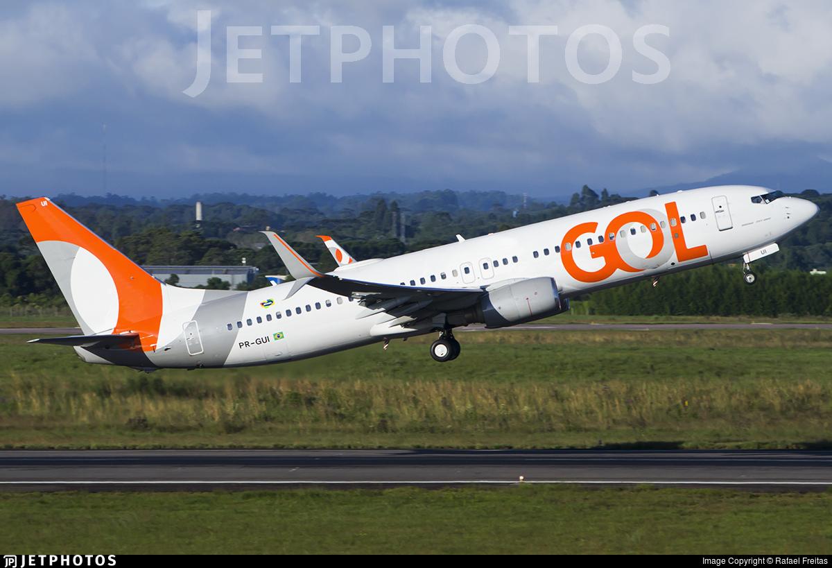 PR-GUI - Boeing 737-8EH - GOL Linhas Aereas