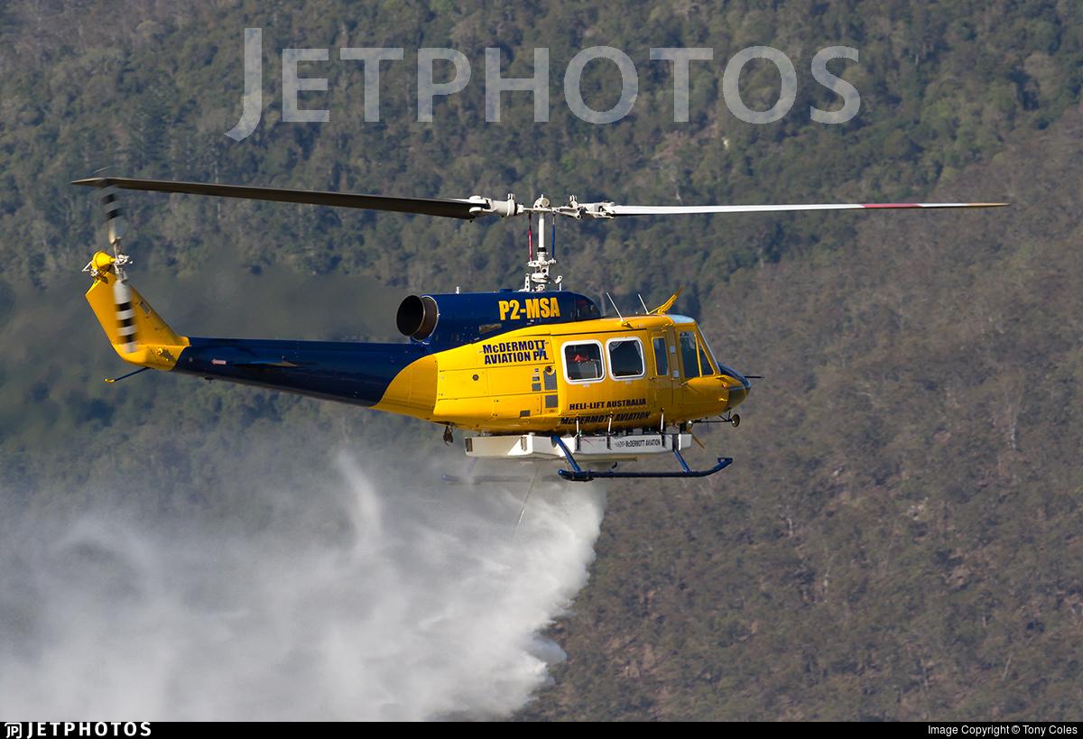 P2-MSA - Bell 214B - McDermott Aviation
