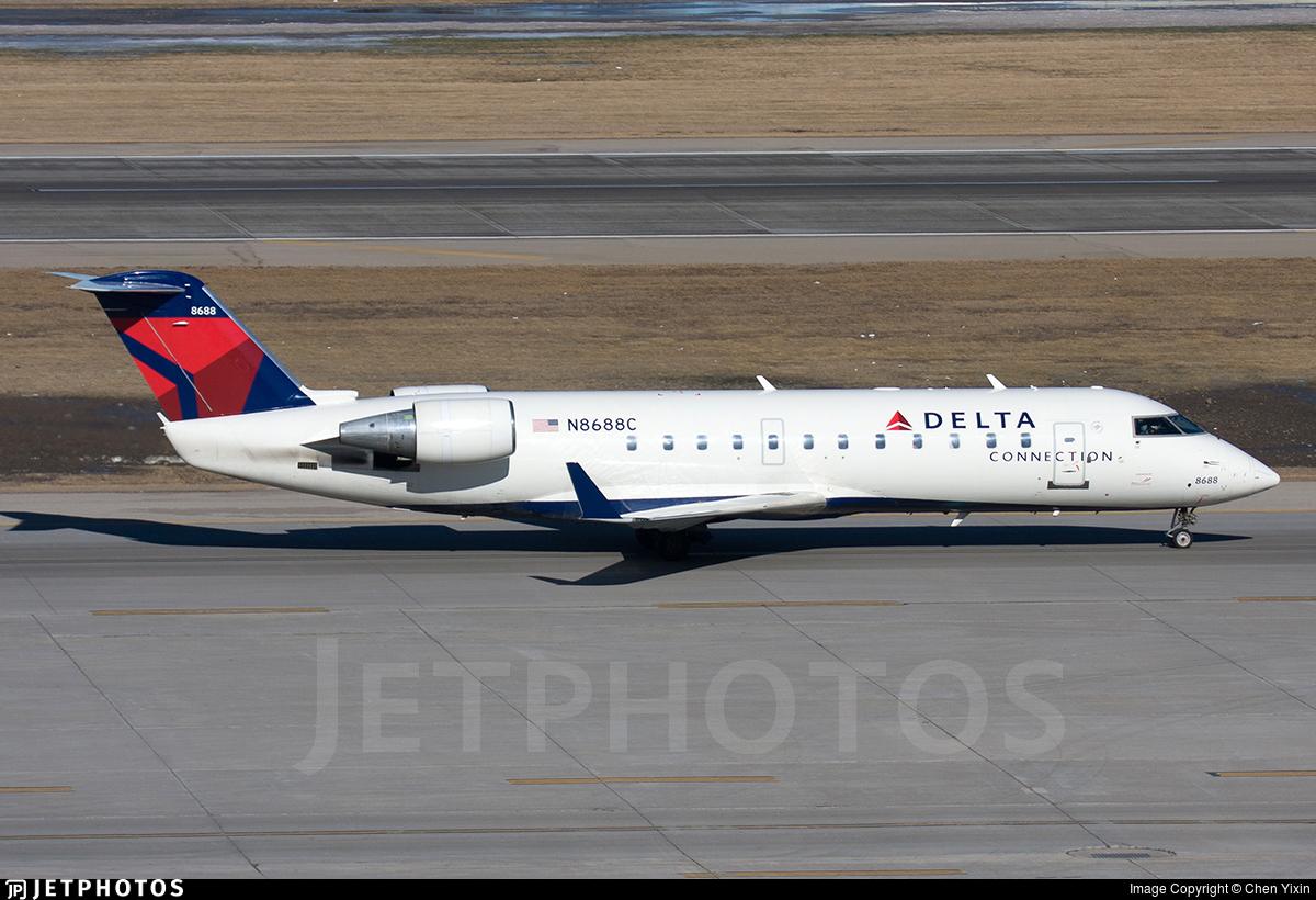 N8688C - Bombardier CRJ-200ER - Delta Connection (Endeavor Air)