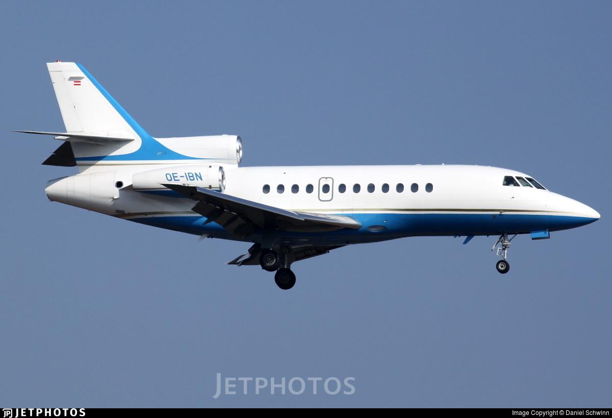 OE-IBN - Dassault Falcon 900EX - International Jet Management