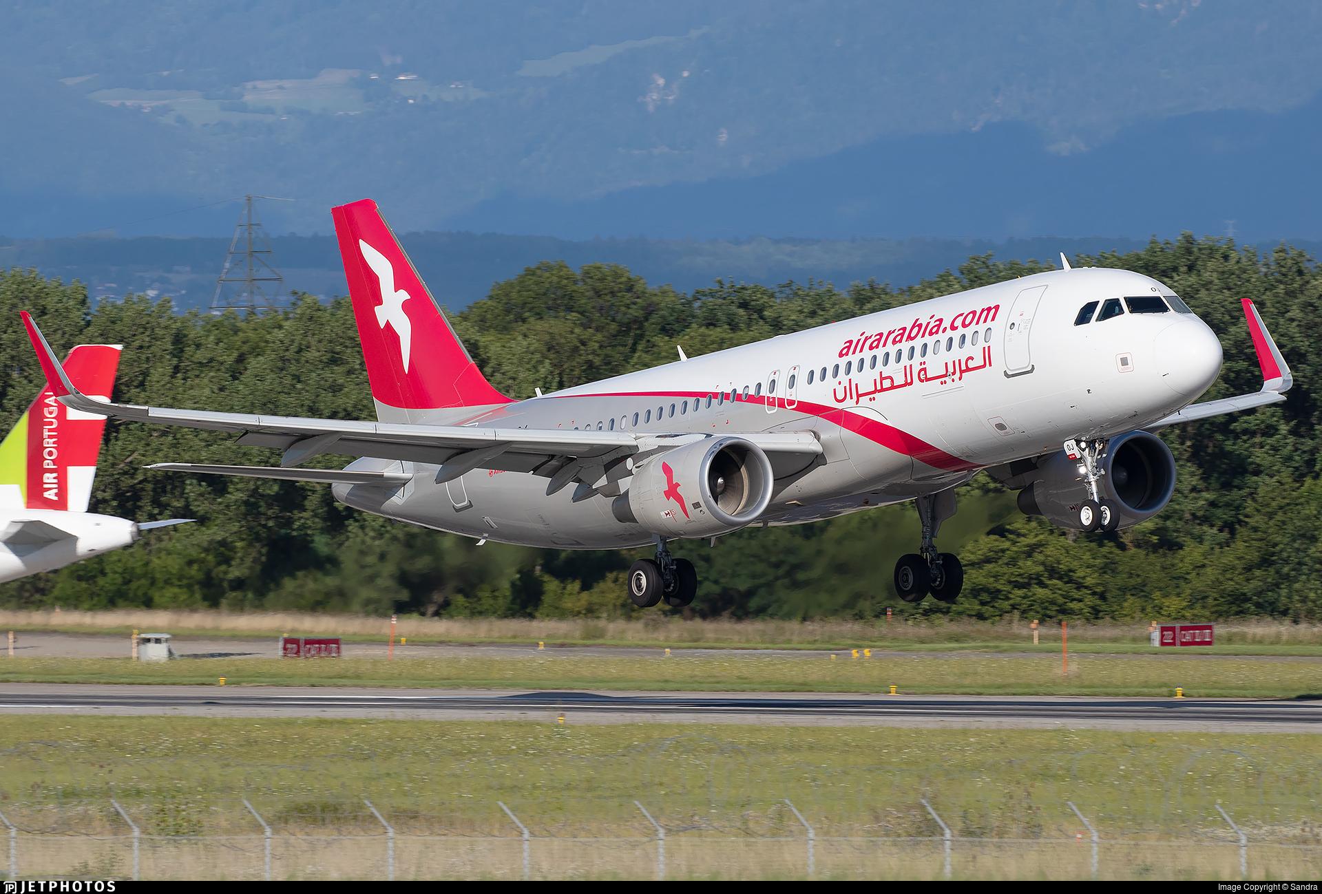 A6-AOJ - Airbus A320-214 - Air Arabia
