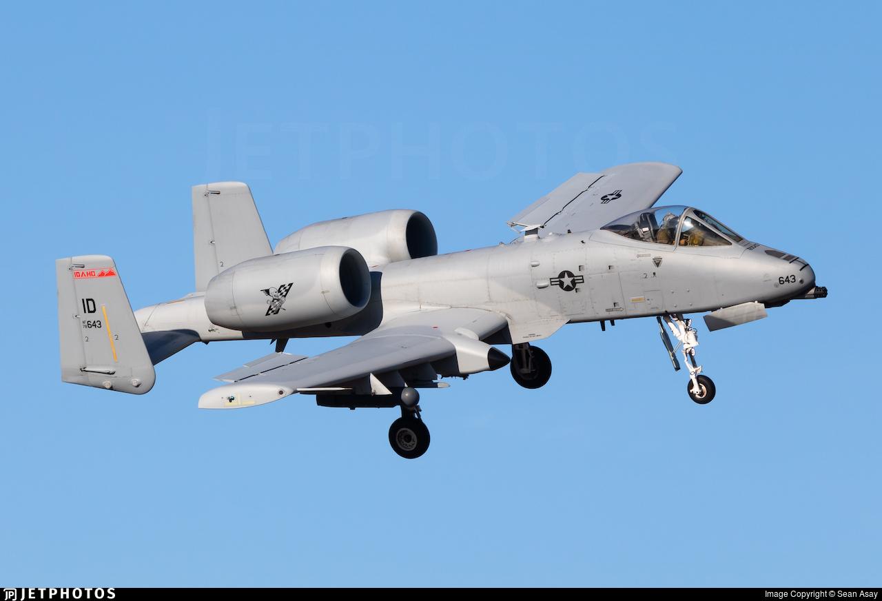 78-0643 - Fairchild A-10C Thunderbolt II - United States - US Air Force (USAF)